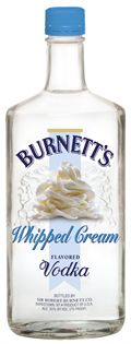 Burnett's Vodka Whipped Cream 1.00l